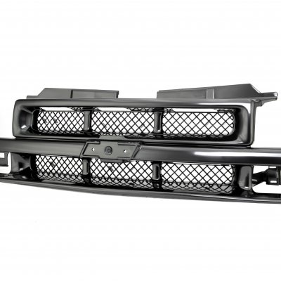 Chevy S10 1998-2004 Black OEM Style Grille