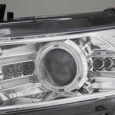 Honda Civic Coupe 2006-2011 Clear Projector Headights