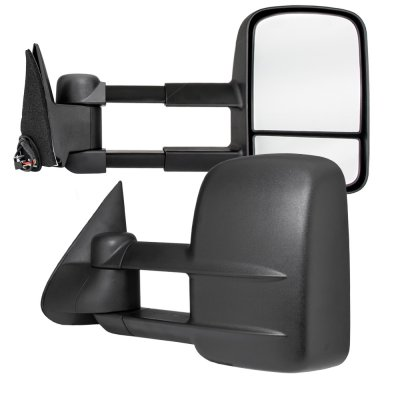 Chevy 2500 Pickup 1988 2000 Power Towing Mirrors