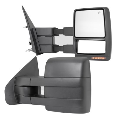 Ford F150 2007-2014 Towing Mirrors Power Heated LED Signal