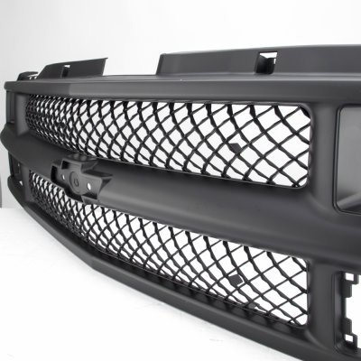 1994 Chevy 1500 Pickup Black Mesh Grille