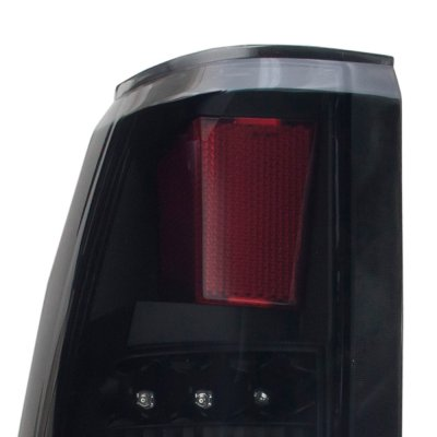 Cadillac Escalade 1999-2000 Black Out LED Tail Lights