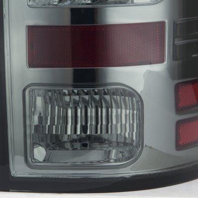 Dodge Ram 2500 2010-2015 Smoked LED Tail Lights