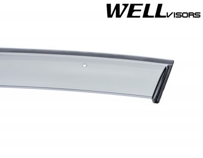 2013 Cadillac CTS Sedan Smoked Side Window Vent Visors Deflectors Rain Guard Shade