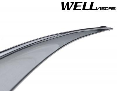 2014 Porsche Cayenne Smoked Side Window Vent Visors Deflectors Rain Guard Shade