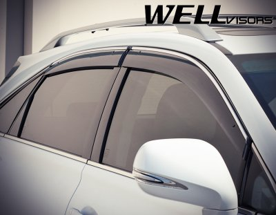 Lexus Rx350 2010 2015 Smoked Side Window Vent Visors
