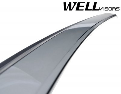 Mazda 5 2006-2010 Smoked Side Window Vent Visors Deflectors Rain Guard Shade Premium Series