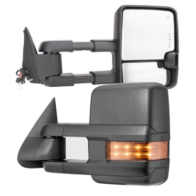 Chevy Silverado 1988-1998 Power Towing Mirrors LED Signal Lights
