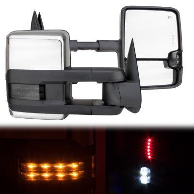 Chevy Blazer Full Size 1992 1994 Chrome Towing Mirrors Smoked Led Signal Lights A128mjgq221 Topgearautosport