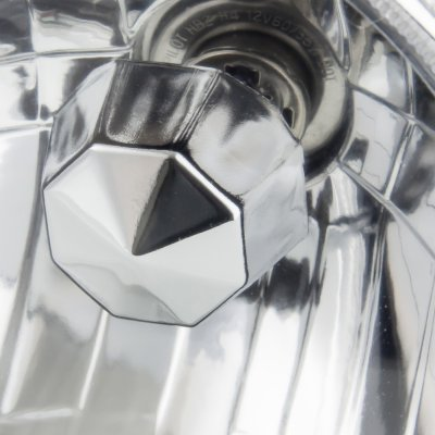 Cadillac Deville 1961-1972 Green Halo Sealed Beam Headlight Conversion Low and High Beams
