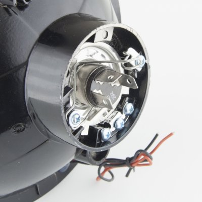 Plymouth Satellite 1967-1974 Red Halo Sealed Beam Headlight Conversion Low and High Beams