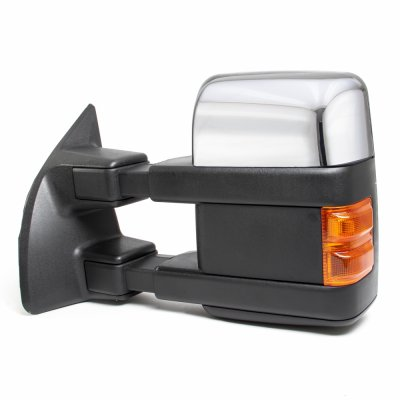 Ford F250 Super Duty 2008 2016 Chrome Towing Mirrors Power