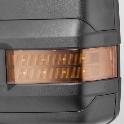 Chevy Silverado 2014-2018 Towing Mirrors LED Lights Power Heated
