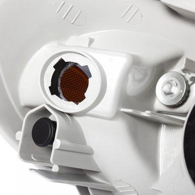 2007 Toyota Corolla Smoked Euro Headlights