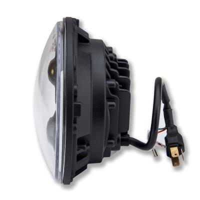 Porsche 911 1969-1986 Black LED Projector Sealed Beam Headlights DRL