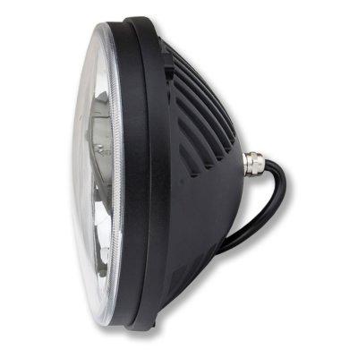 1975 Ford F100 Black LED Sealed Beam Headlight Conversion