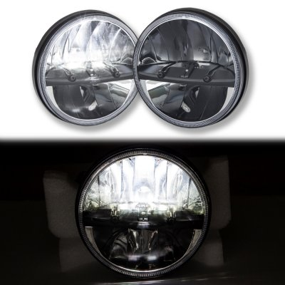 Ford Maverick 1972 1977 Black Led Sealed Beam Headlight