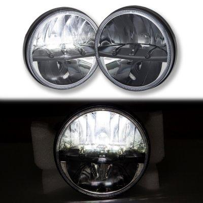 Hummer H1 2002-2006 Black LED Sealed Beam Headlight Conversion