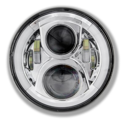 1976 Dodge Pickup Truck LED Projector Sealed Beam Headlights DRL