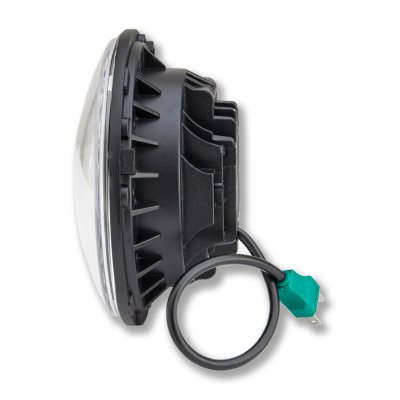 VW Beetle 1971-1979 Black LED Projector Sealed Beam Headlights