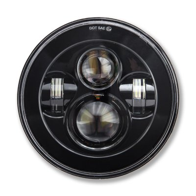 Dodge Dart 1972-1976 Black LED Projector Sealed Beam Headlights