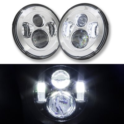 Jeep Cj7 1976 1986 Led Projector Sealed Beam Headlights