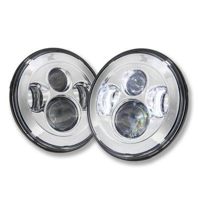 VW Beetle 1971-1979 LED Projector Sealed Beam Headlights