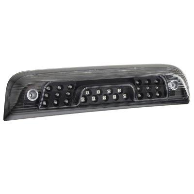 Chevy Silverado 2014-2018 Black LED Third Brake Light