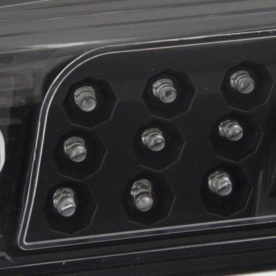 Chevy Silverado 2500HD 2015-2016 Black LED Third Brake Light