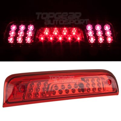 gmc sierra 2500hd 2015 2016 red led third brake light. Black Bedroom Furniture Sets. Home Design Ideas