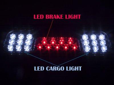 Chevy Silverado 2500HD 2015-2016 Smoked LED Third Brake Light