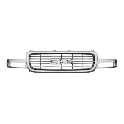 GMC Sierra 1999-2002 Chrome Replacement Grille
