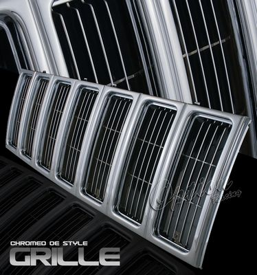 Jeep Cherokee 1997-2001 Chrome OEM Style Grille