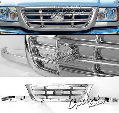Ford Ranger 2001-2003 Chrome OEM Style Grille