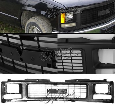 GMC C10 1988-1993 Black OEM Style Seal Beam Type Grille