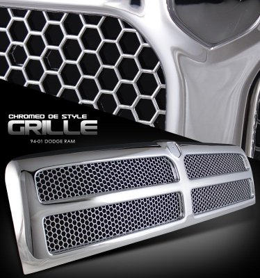 Dodge Ram 1994-2001 Chrome Replacement Grille
