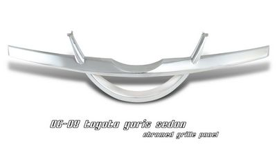 Toyota Yaris 2006-2008 Sedan Chrome Panel Grille
