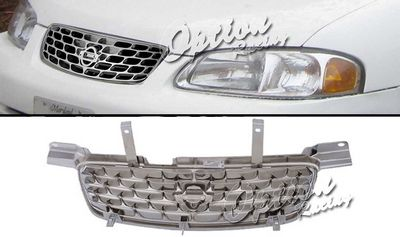 Nissan Sentra 2000-2003 Chrome OEM Style Grille
