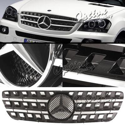 Mercedes Benz M Class 1998-2005 Black Sport Grille with Emblem