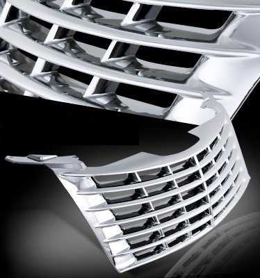 Chrysler Pt Cruiser 2001 2005 Chrome Replacement Grille