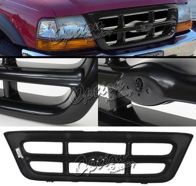 ford ranger 1998 2000 black oem style grille - 2000 Ford Ranger Black