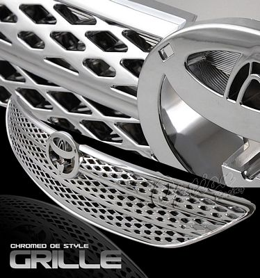 Toyota Camry 2002-2004 Chrome OEM Style Grille