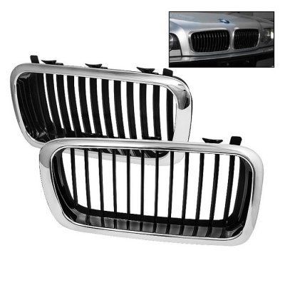 BMW E38 7 Series 1995-2002 Chrome Replacement Grille
