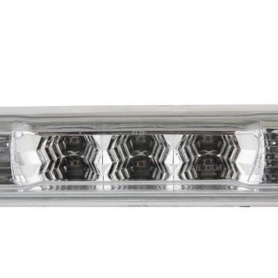 Chevy Silverado 2500HD 2007-2014 Clear LED Third Brake Light and Cargo Light