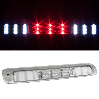 Chevy Silverado 1999-2006 Clear LED Third Brake Light and Cargo Light