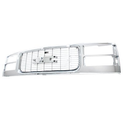 GMC Yukon 1994-1999 Chrome Replacement Grille