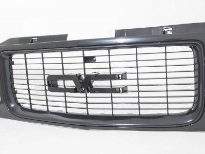 GMC Sierra 1994-1998 Black Replacement Grille