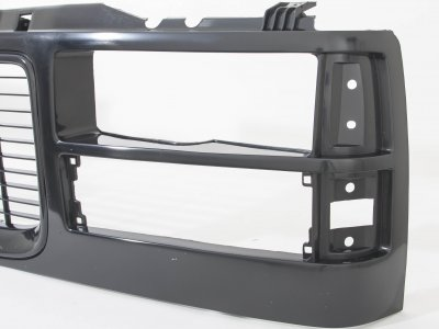 GMC Suburban 1994-1999 Black Replacement Grille