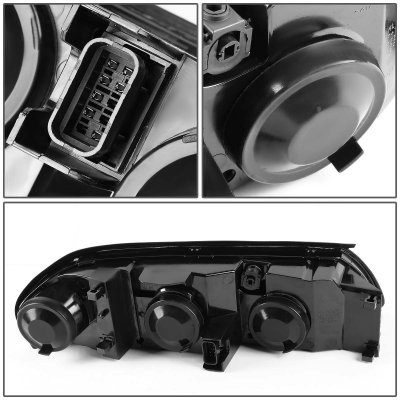 Chevy Impala 2000-2005 Smoked Euro Headlights