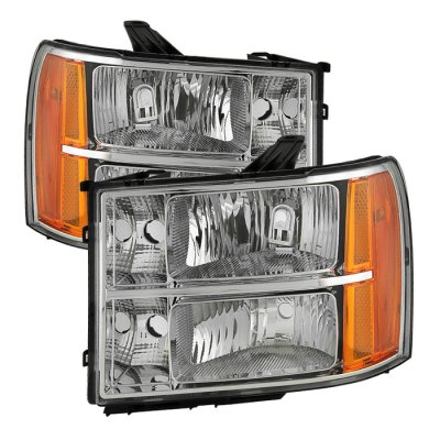 GMC Sierra 2007-2013 Euro Headlights